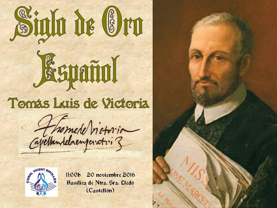 POLIFONÍA DEL RENACIMIENTO: Tomás Luis de Victoria